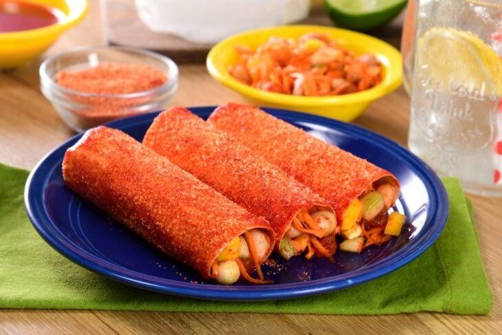 jicatacos; tacos de jícama con chile y limón; 15 Deliciosas y sencillas botanas para disfrutar del Super Bowl