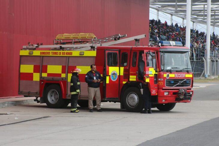 Camión de bomberos de Santiago de Estero
