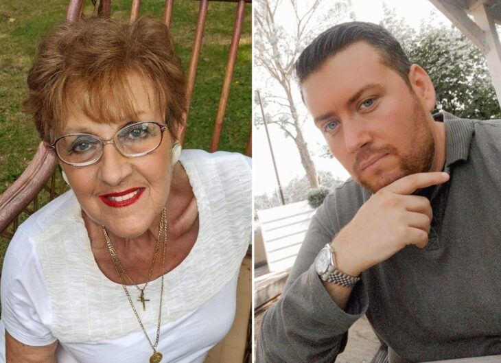 abuela y nieto conviviendo