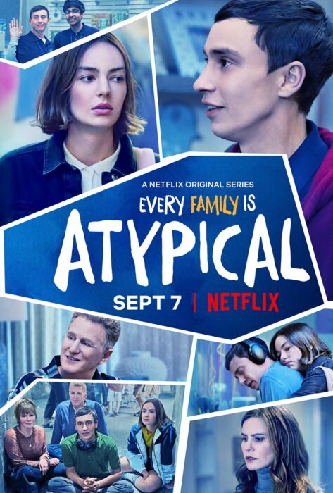 Poster de la serie 'Atípico'