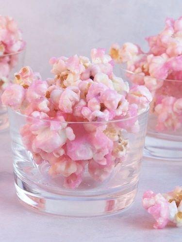 Palomitas rosas