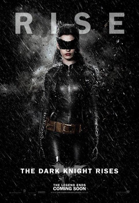 Poster de la película 'El caballero de la noche asciende'