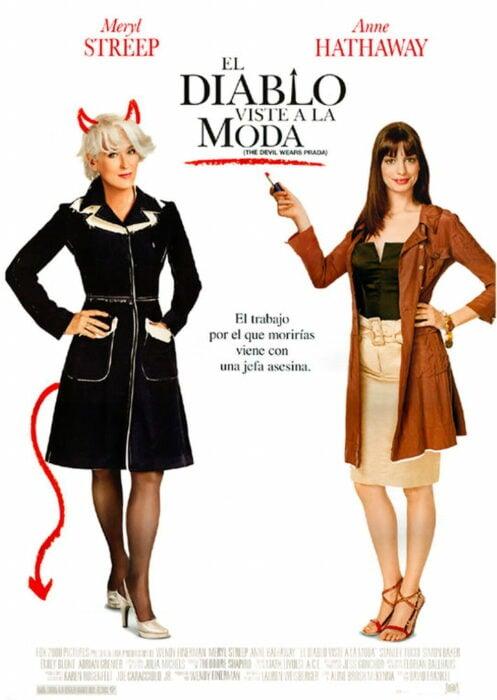 Poster de la película 'El diablo viste a la moda'