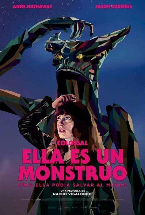 Poster de la película 'Ella es un monstro'