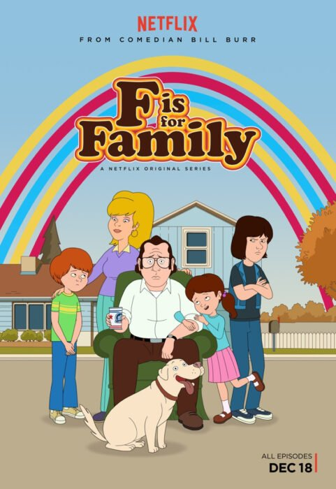 Poster de la serie 'F es para la familia'