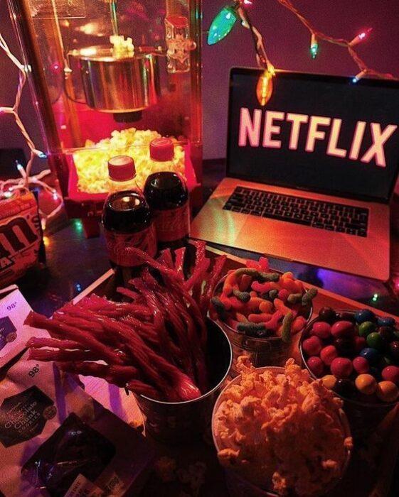 Noche virtual de Netflix