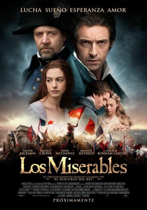 Poster de la película 'Los miserables'