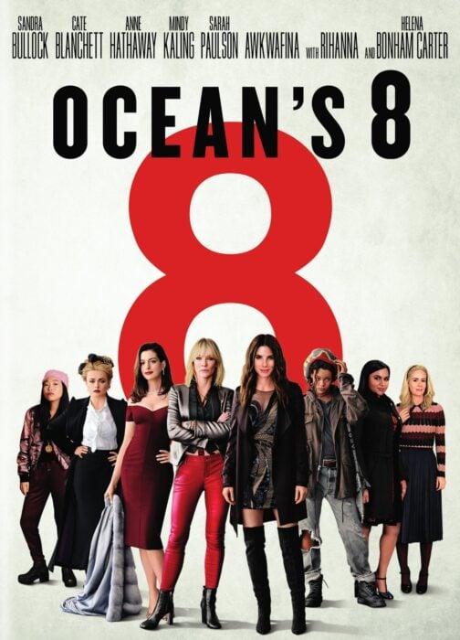 Poster de la película 'Ocean's Eight Las estafadoras'