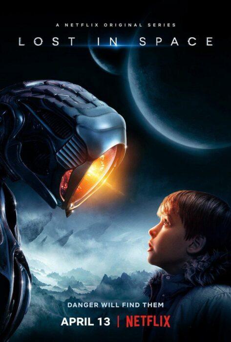 Poster de la serie 'Perdidos en el espacio'