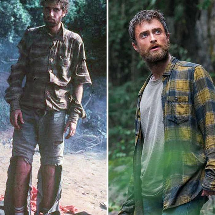 Yossi Ghinsberg interpretado por Daniel Radcliffe