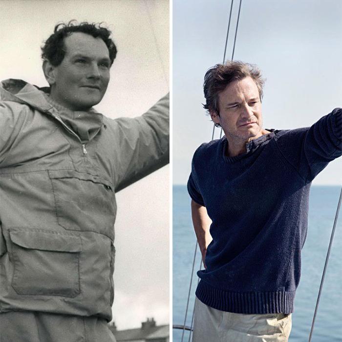 Donald Crowhurst interpretado por Colin Firth
