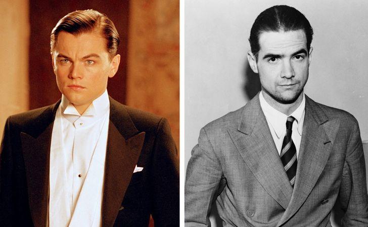 Howard Hughes interpretado por Leonardo DiCaprio