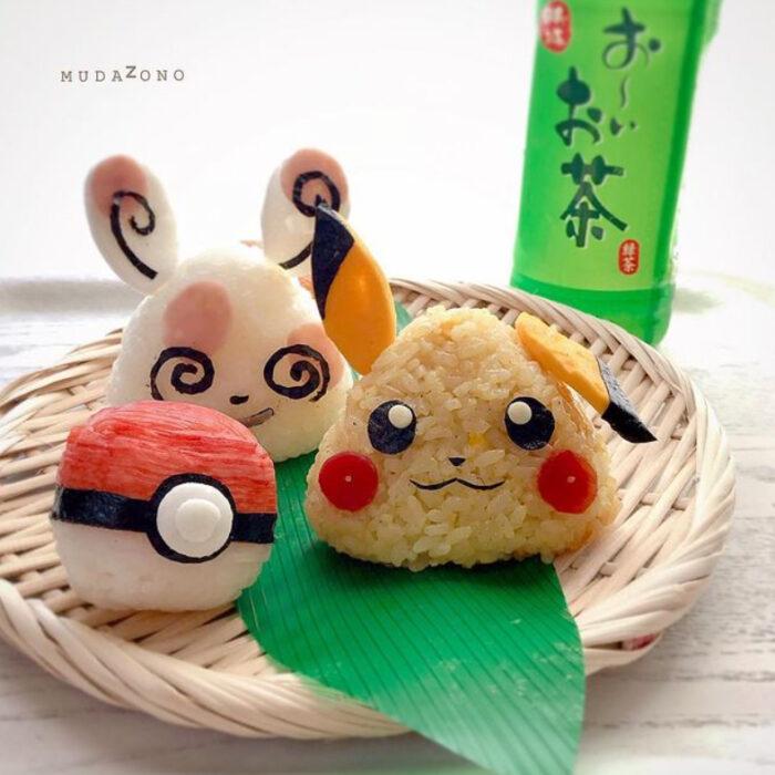 Platillo inspirado en Pikachú hecho por Kaseifu Mudazono