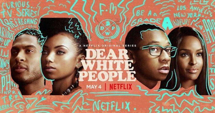 Poster de la serie 'Queridos blancos'