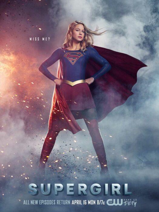 Poster de la serie 'Super Girl'