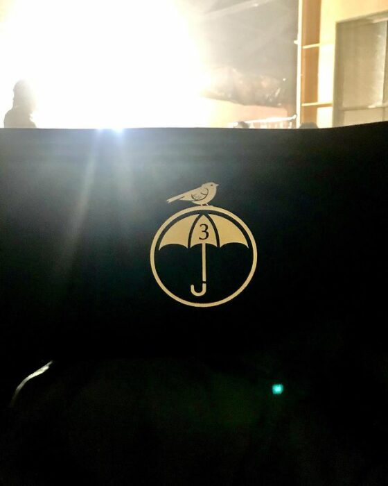 Foto del set de The Umbrella Academy 3