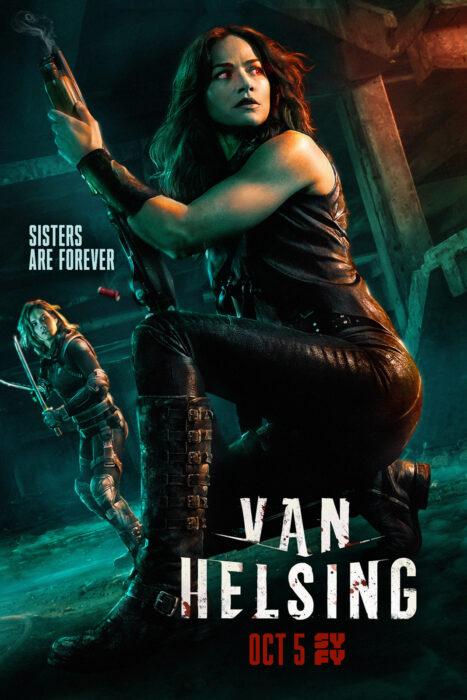 Poster de la serie 'Van Helsing'
