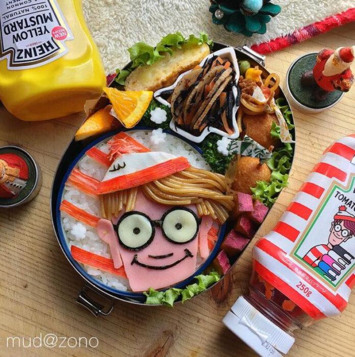 Platillo inspirado en Wally hecho por Kaseifu Mudazono