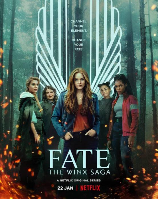 Poster de 'Fate: The Winx Saga'