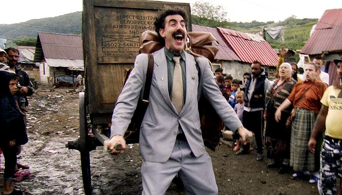 escena de la película Borat 2