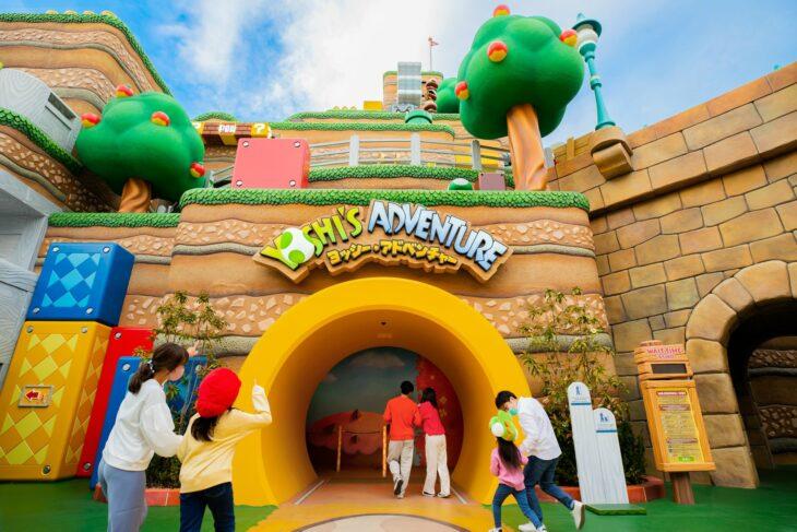 Entrada al parque de atracciones Super Nintendo World