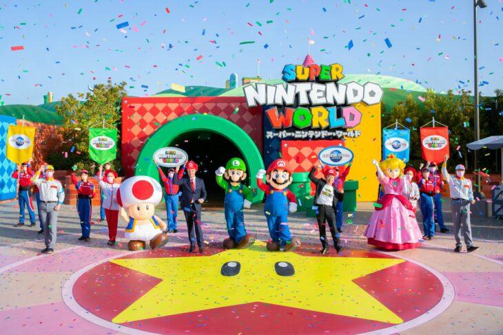 Inauguración de Super Nintendo World  en Japón