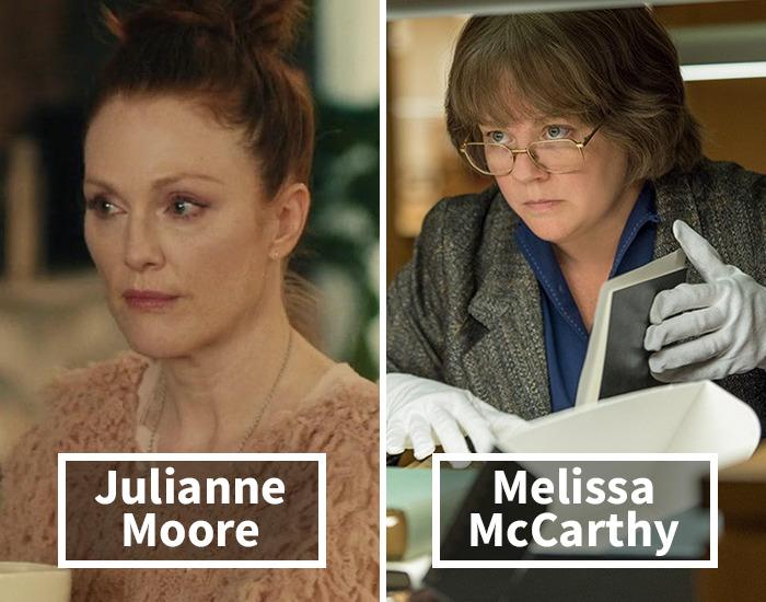 Julianne Moore por Melissa McCarthy en ¿ Podrás perdonarme?