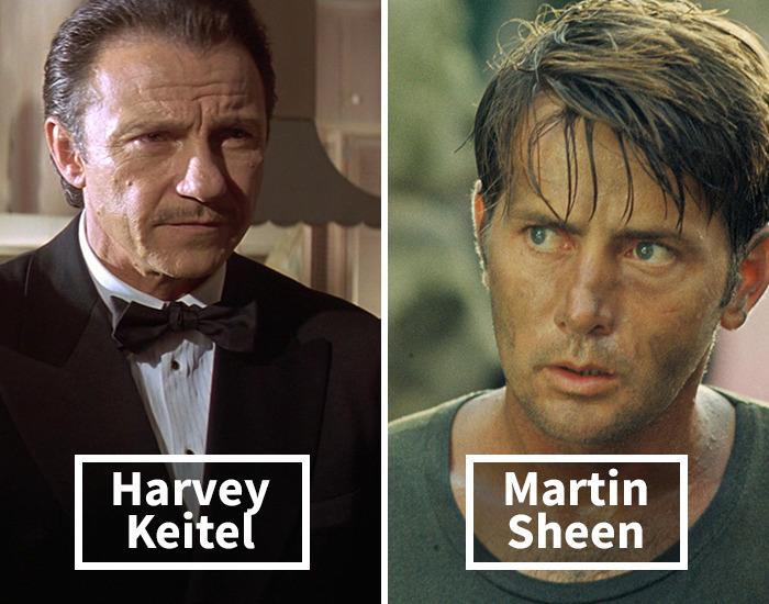 Harvey Keitel por Martin Sheen en Apocalipsis ahora