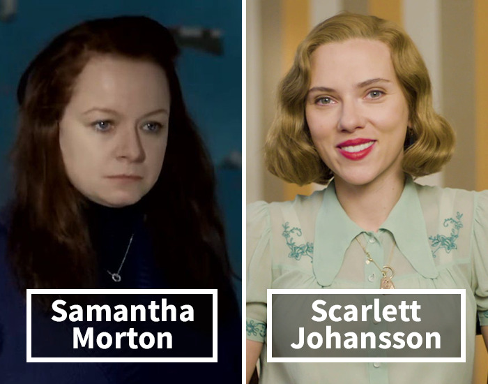 Samantha Morton por Scarlett Johansson en Her