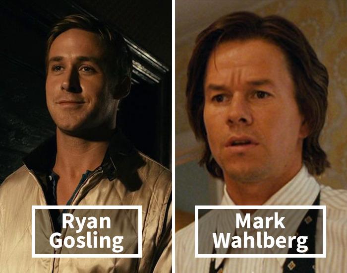 Ryan Gosling por Mark Wahlberg en Desde mi cielo