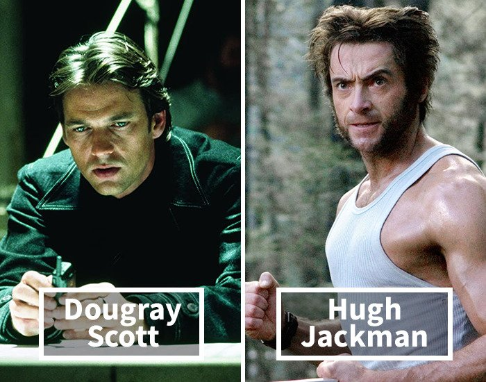 Dougray Scott por Hugh Jackmanen X-Men