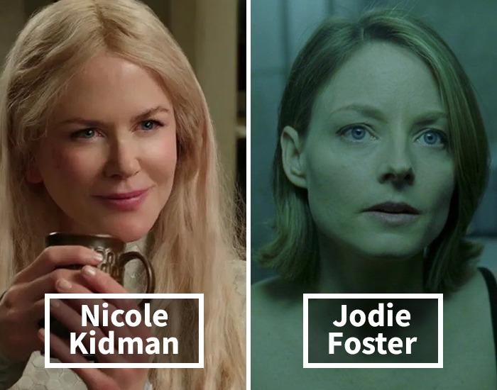 Nicole Kidman por Jodie Foster en La habitación del pánico