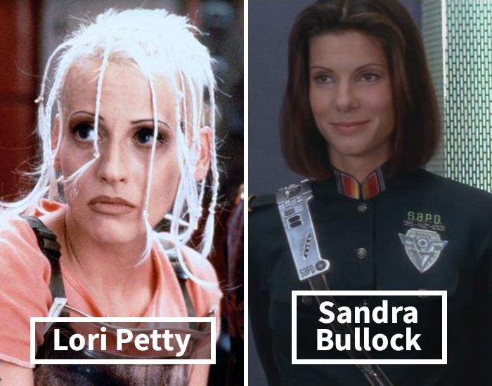 Lori Petty por Sandra Bullocken El demoledor