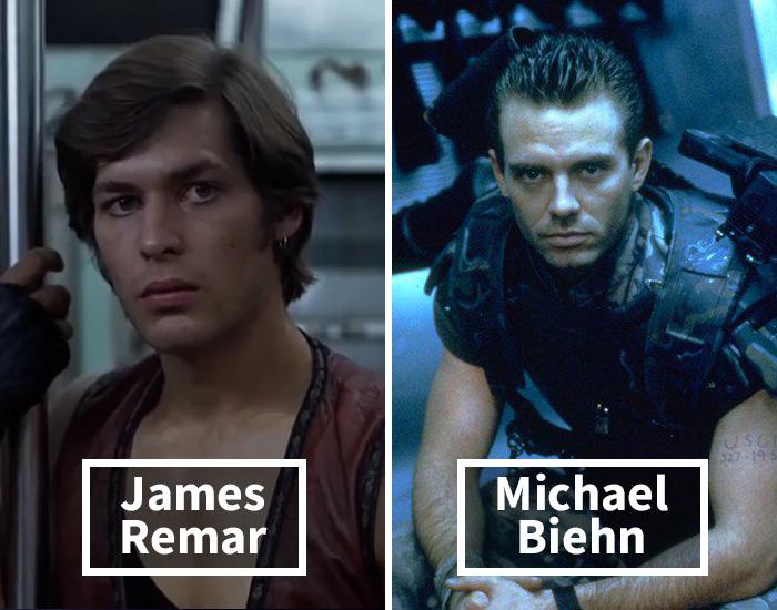 James Remar por Michael Biehn en Aliens