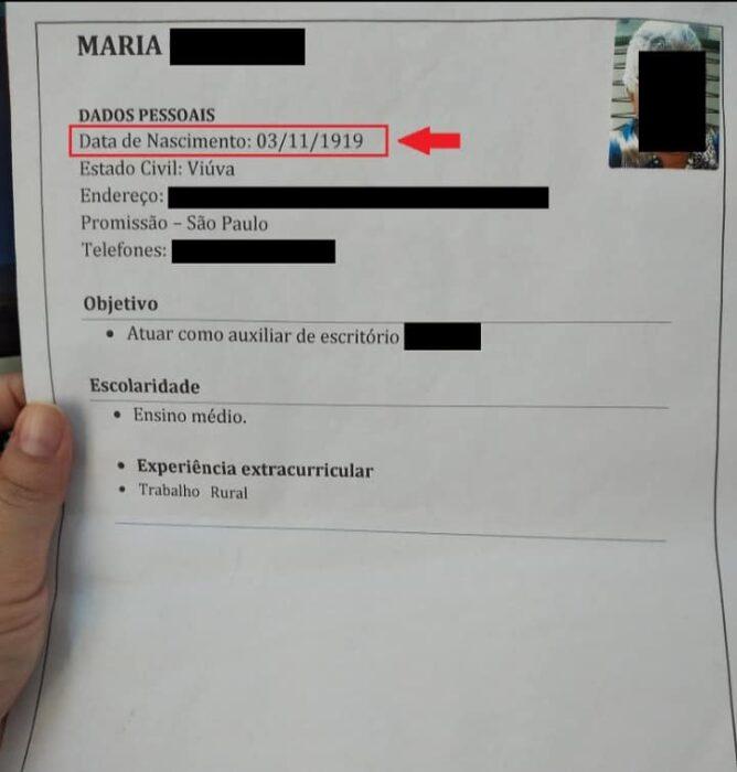 Currículum de María Cardoso