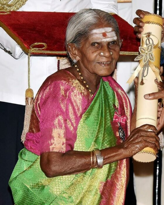 Saalumarada Thimmakka es llamada 'Madre de los bosques'