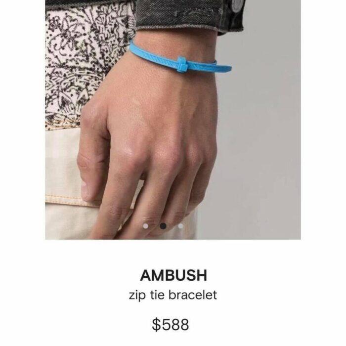 Imagen de catalogo de brasalete de Ambush