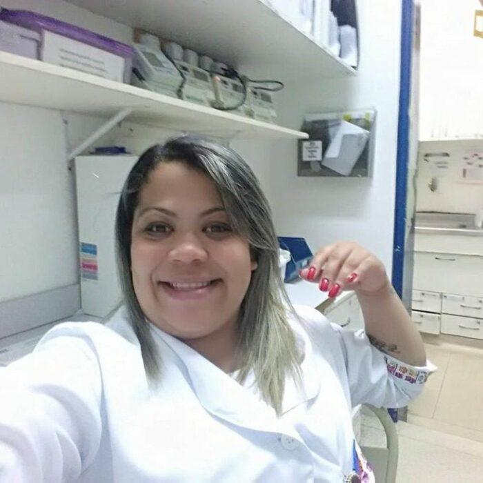 Lidiane Melo enfermera brasileña que está combatiendo el covid 19