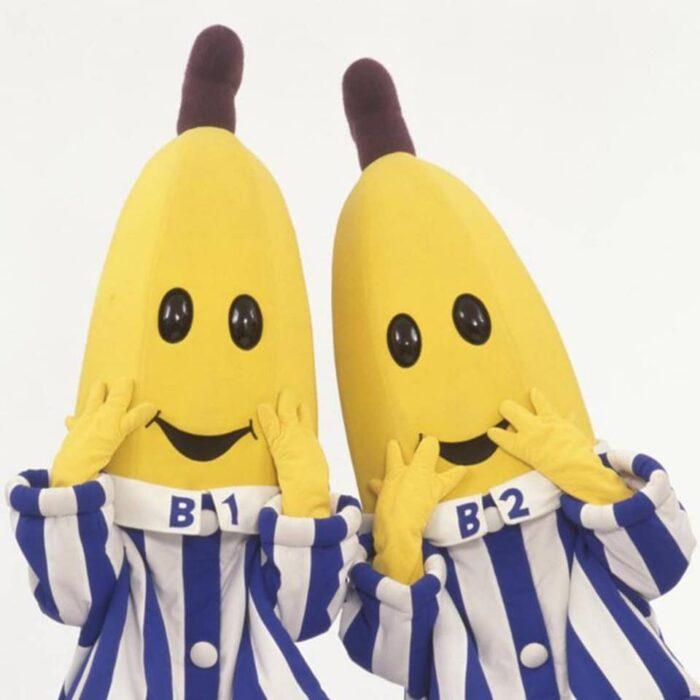 Show de bananas en pijamas