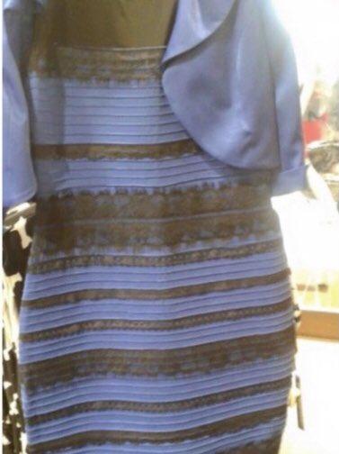 Debate del vestido que era de diferentes colores