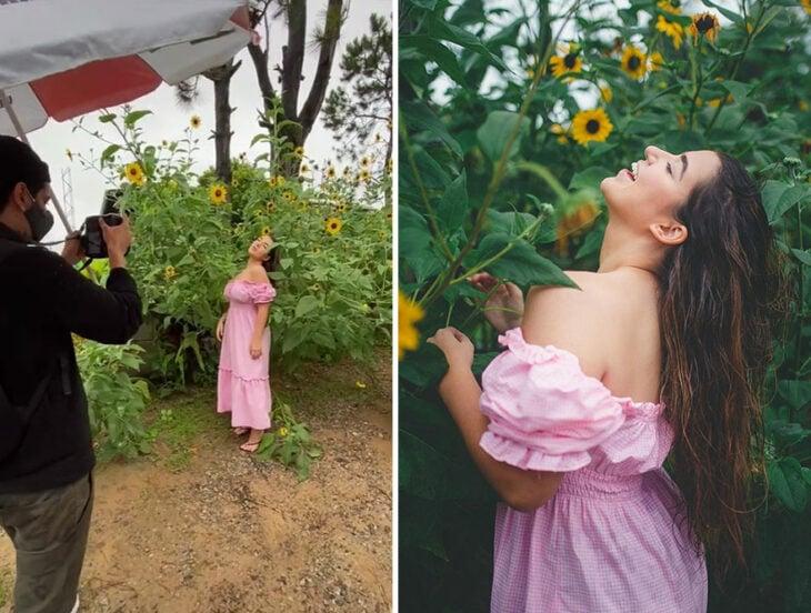 Detrás de cámaras de las fotografías de Halyson, fotógrafo brasileño