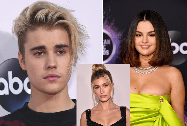 Triángulo amoroso entre Justin Bieber, Selena Gomez y Hailey Baldwin
