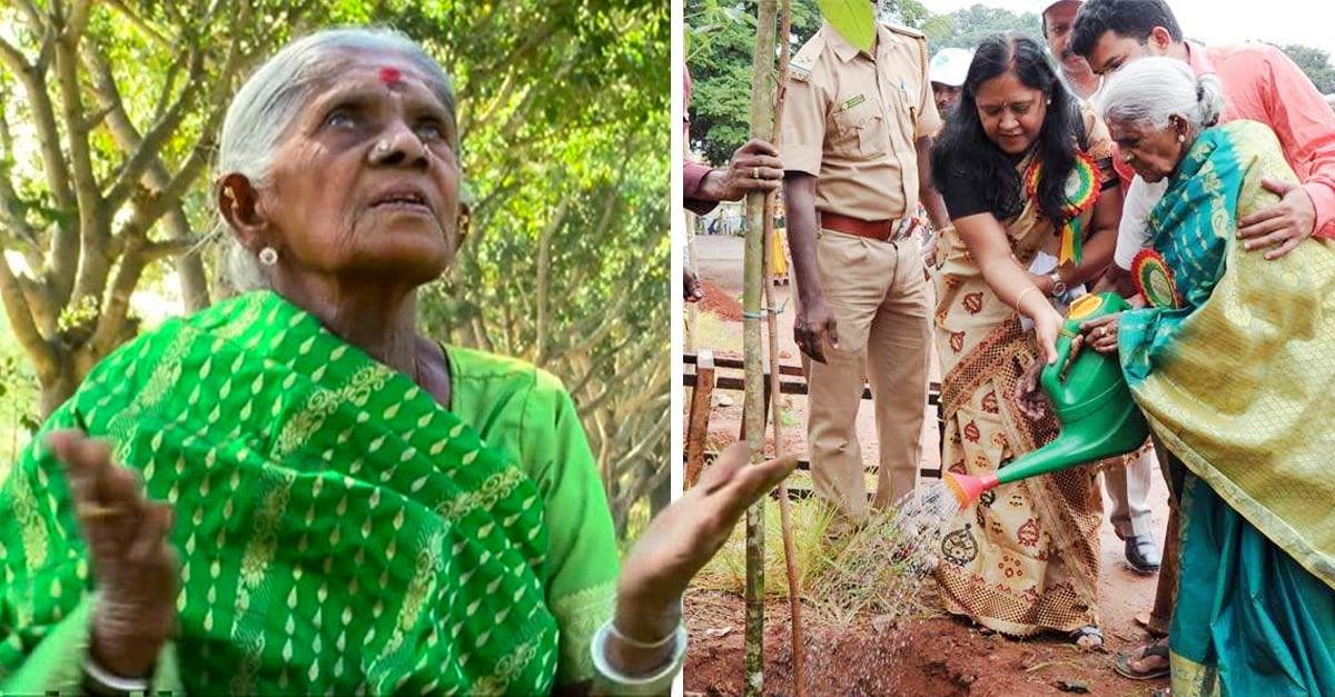 La 'Madre de los bosques' ha plantado miles de árboles