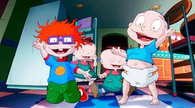 Escena del programa de Nickelodeon; Rugrats: Aventuras en pañales