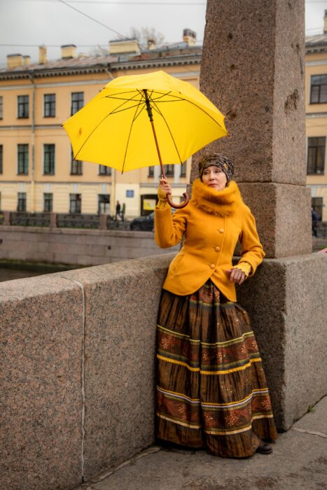 Cosplay de mujer de los 70, de Marina Badianova