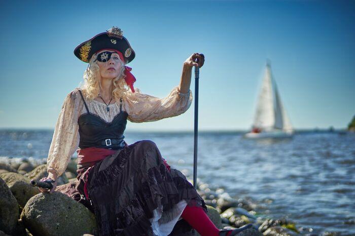 Cosplay de pirata, de Marina Badianova