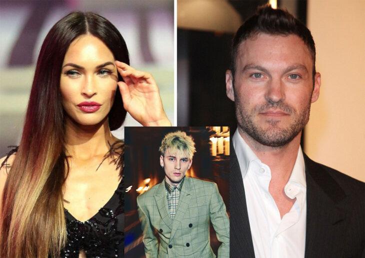 Triángulo amoroso entre Megan Fox, Brian Austin Green y Machine Gun Kelly