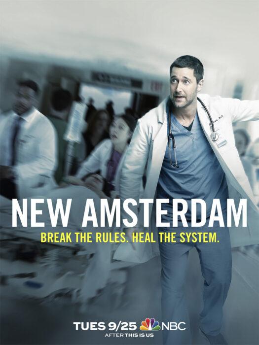 Poster de la serie 'New Amsterdam'