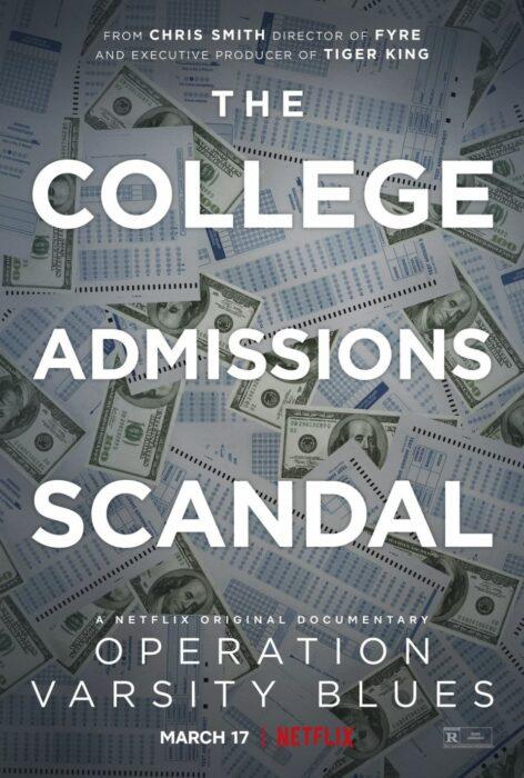 Poster del documental 'College admission scandal'