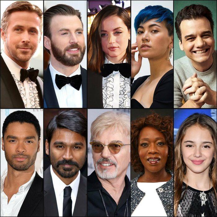 Elenco que protagonizará la película de Netflix The gray man